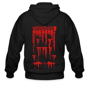 Bloody Buddy Red - Men's Zip Hoodie