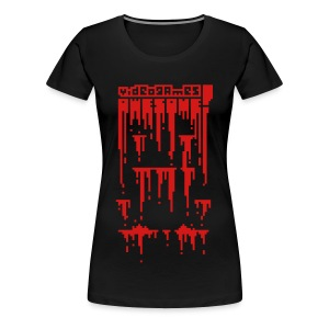 Bloody Buddy Red - Women's Premium T-Shirt