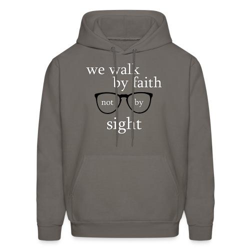 Walk By Faith Tee - Men's Hoodie