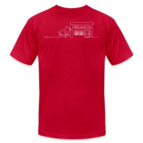 Grizzly Bears Near Pulaski's Candy Store T-Shirt - Men's  Jersey T-Shirt