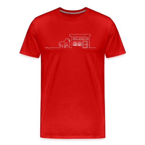 Grizzly Bears Near Pulaski's Candy Store T-Shirt - Men's Premium T-Shirt