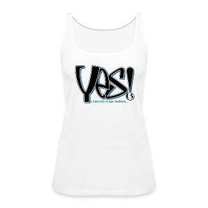 Yes Women's Slim T - lt - Women's Premium Tank Top