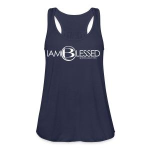 IAmBlessed-wmt - Women's Flowy Tank Top by Bella