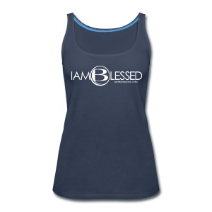 IAmBlessed-wmt - Women's Premium Tank Top