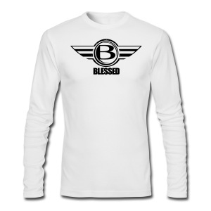 Blessed-Airborn - Men's Long Sleeve T-Shirt by Next Level