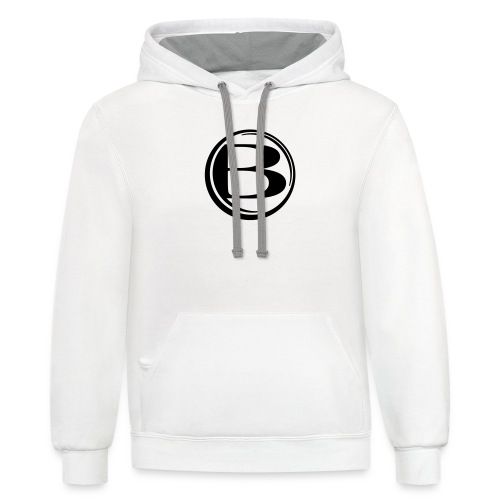 Blessed-B-Center - Contrast Hoodie