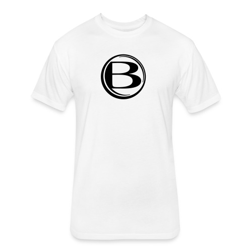Blessed-B-Center - Fitted Cotton/Poly T-Shirt by Next Level