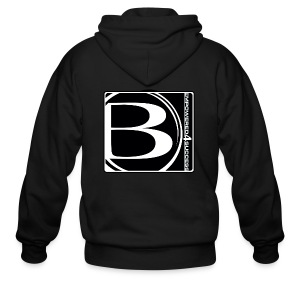 Blessed-B-Center - Men's Zip Hoodie