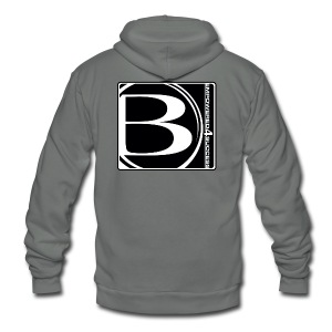 Blessed-B-Center - Unisex Fleece Zip Hoodie by American Apparel