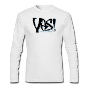 YES T-Shirts - Men's Long Sleeve T-Shirt by Next Level