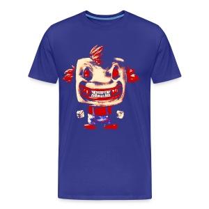 Funny Buddy Faded - Men's Premium T-Shirt