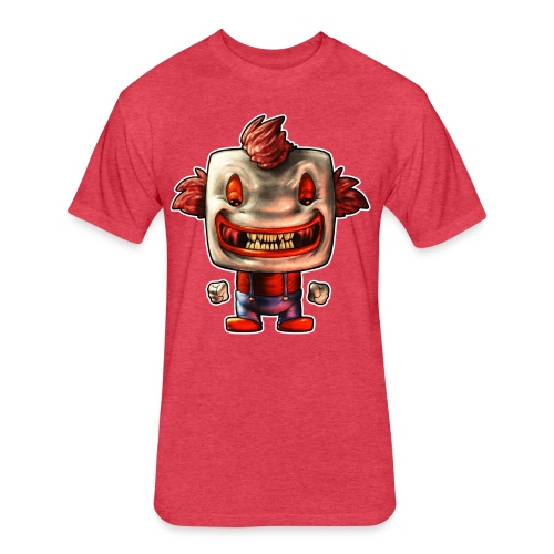 Funny Buddy - Fitted Cotton/Poly T-Shirt by Next Level