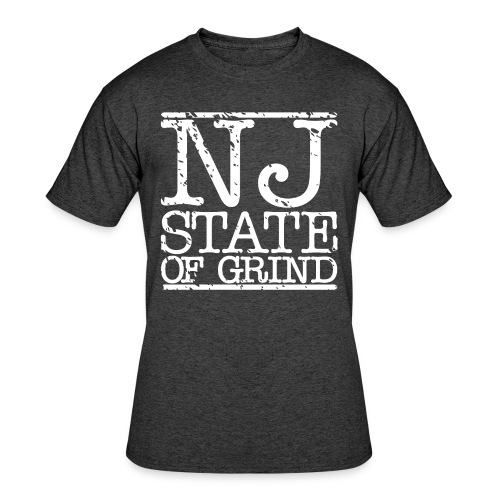 NJ STATE OF MIND - Men's 50/50 T-Shirt