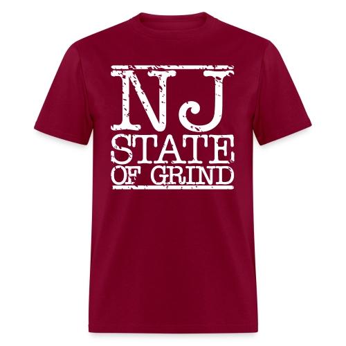 NJ STATE OF MIND - Men's T-Shirt