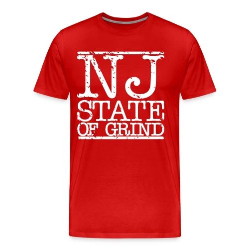 NJ STATE OF MIND - Men's Premium T-Shirt