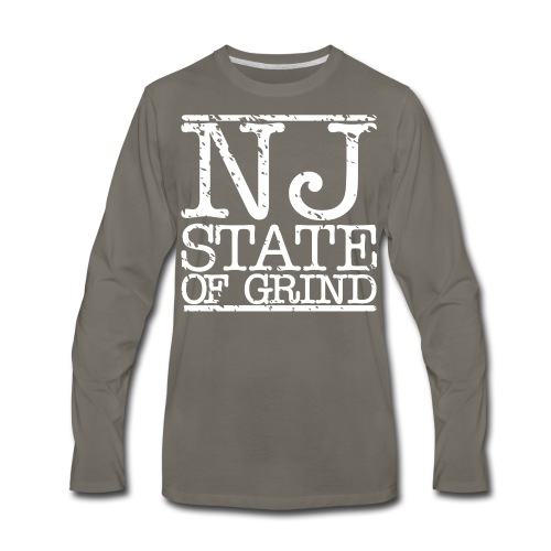 NJ STATE OF MIND - Men's Premium Long Sleeve T-Shirt