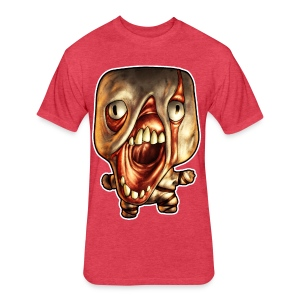 Sleepless Buddy - Fitted Cotton/Poly T-Shirt by Next Level
