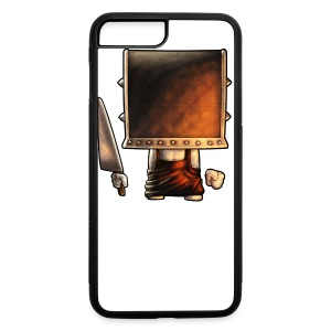 Cube Buddy Bordered - iPhone 7 Plus/8 Plus Rubber Case