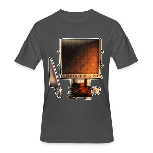 Cube Buddy Bordered - Men's 50/50 T-Shirt