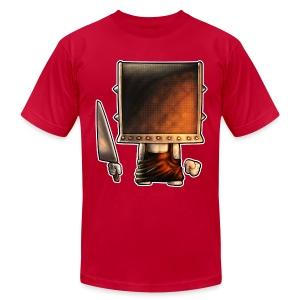 Cube Buddy Bordered - Men's Fine Jersey T-Shirt