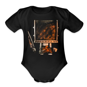 Cube Buddy Blended - Short Sleeve Baby Bodysuit