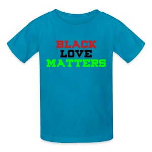 BLVCK LOVE MATTERS - Kids' T-Shirt