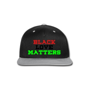 BLVCK LOVE MATTERS - Snap-back Baseball Cap