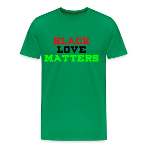 BLVCK LOVE MATTERS - Men's Premium T-Shirt