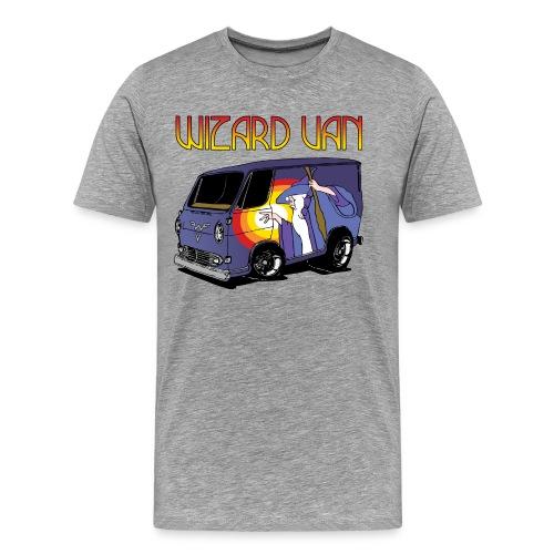 Wizard Van Men's T-Shirt Grey - Men's Premium T-Shirt