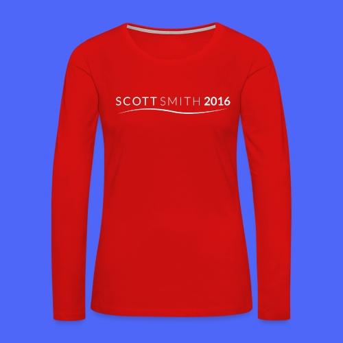 Women's Premium Tank Top (Swoosh) - Women's Premium Long Sleeve T-Shirt