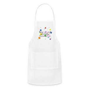 Crafty Is A Way Of Life Shirt - Adjustable Apron