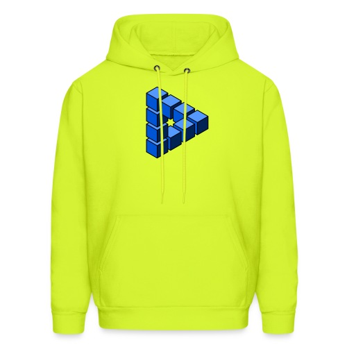 Impossible construction of a triangle - Men's Hoodie