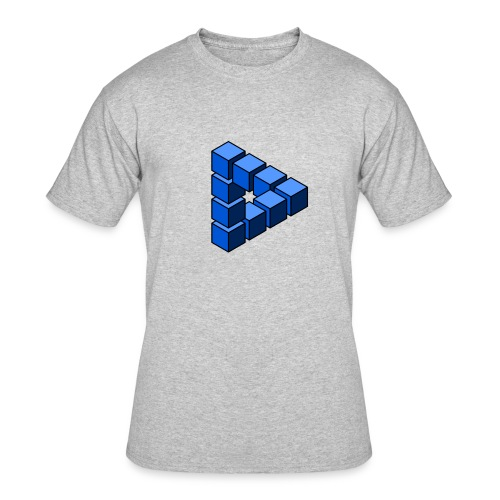 Impossible construction of a triangle - Men's 50/50 T-Shirt