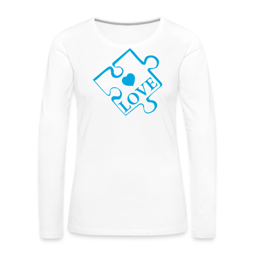 Autism Love - Women's Premium Long Sleeve T-Shirt
