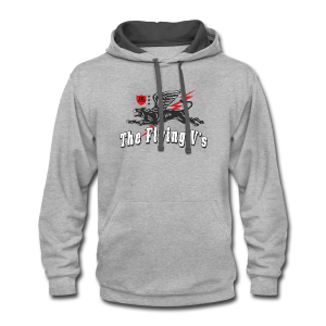 The Flying V's-Tee - Contrast Hoodie