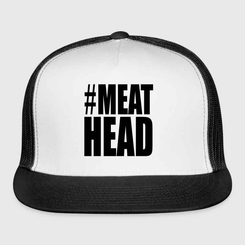 Meathead Weight Lifting Funny Caps - Trucker Cap