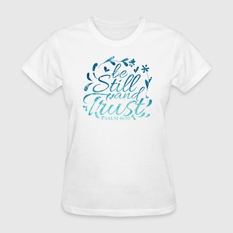 be still, blue - Women's T-Shirt - Women's T-Shirt