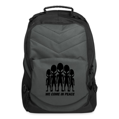 We come in peace - Computer Backpack