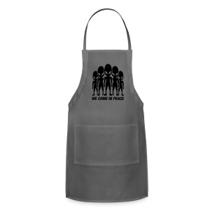 We come in peace - Adjustable Apron