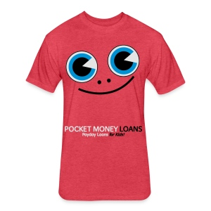 Pocket Money Loans - Fitted Cotton/Poly T-Shirt by Next Level