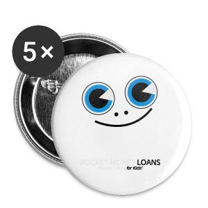 Pocket Money Loans - Small Buttons