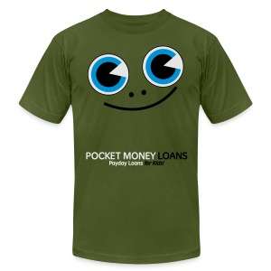 Pocket Money Loans - Men's T-Shirt by American Apparel