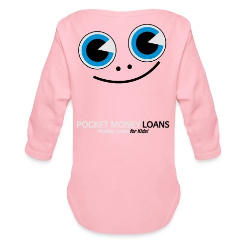 Pocket Money Loans - Organic Long Sleeve Baby Bodysuit