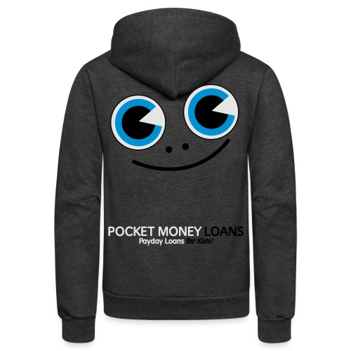 Pocket Money Loans - Unisex Fleece Zip Hoodie