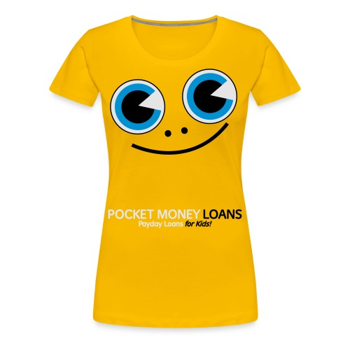 Pocket Money Loans - Women's Premium T-Shirt