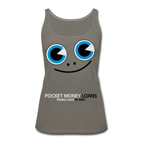 Pocket Money Loans - Women's Premium Tank Top