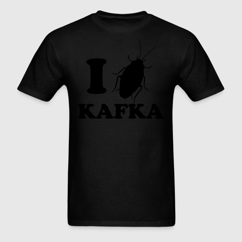 I Love Kafka T-Shirts - Men's T-Shirt