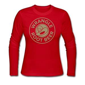 Wrangle Root Beer Tee - Womens - Women's Long Sleeve Jersey T-Shirt