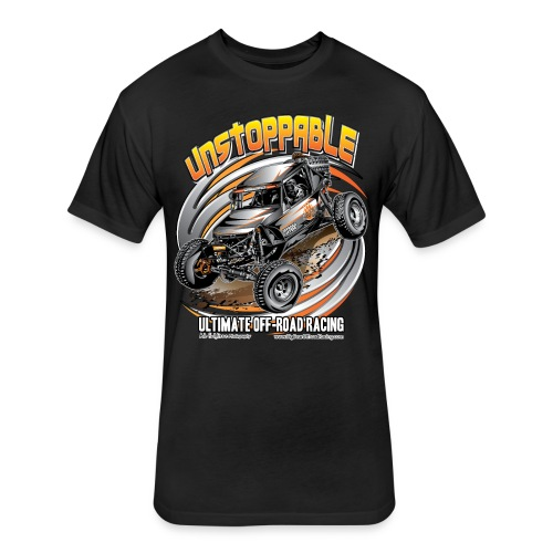 Unstoppable Ultra4 Buggy - Fitted Cotton/Poly T-Shirt by Next Level