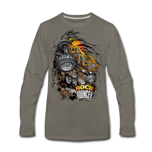 Rock Bouncer Sunset - Men's Premium Long Sleeve T-Shirt